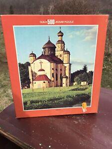 Vintage Whitman 500 Pcs Puzzle Opened German Castle 4615-1