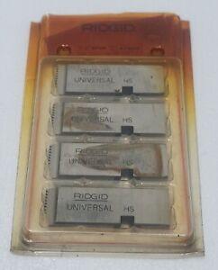 "RIDGID 47860 1""-2"" NPSM HIGH SPEED UNIVERSAL PIPE DIES RIGHT HAND"