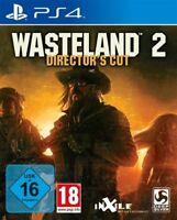 PS4 / Sony Playstation 4 Spiel - Wasteland 2 #Director's Cut (DE/EN) (mit OVP)