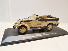 Atlas Edition 1:43 Scale M3A1 Scout Car 5th Field Regiment NZ Artillery Tunisia
