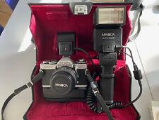 Minolta XD-7 Kamera Profi Set - Power Grip - Top Zustand - voll funktionsfähig