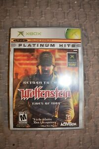 Return to Castle Wolfenstein XBOX with Manual
