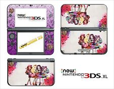 SKIN DECAL STICKER - NINTENDO NEW 3DS XL - REF 185 EVER AFTER HIGH