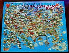 "SPRINGBOK Jigsaw Puzzle ""THE GOOD OLD U.S. OF A.""   Robert Blair Martin    CIB"
