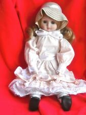 """18"""" Porcelain Doll 1980's - Great Gift"""