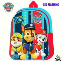 Paw Patrol Backpack With LED Light Bag School