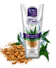 Boro Plus Zero Oil Zero Pimple Duo Face Wash With Multani Mitti And Neem - 60 Ml