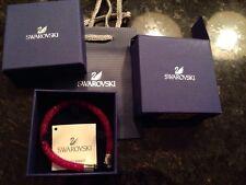 New SWAROVSKI crystal signed Stardust  Bracelet Hot Pink 5092091 20 cm M