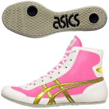 Asics Japan Wrestling Boxing Shoes Ex-Eo Pink White Gold Twr900 Flat Sole 20