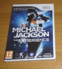 Jeu nintendo Wii - Michael Jackson the experience (Just dance)