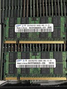 LAPTOP 1GB 2GB 4GB 6GB 8GB RAM MEMORY DDR2 PC2 555 - 667 MHz SODIMM  200pin Lot