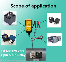 12VAE100 Electronic Car Relay Tester Automobile Relay Vehicle Automotive Checker