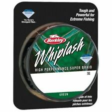 BERKLEY WHIPLASH QUALITY FISHING BRAID - 300M - GREEN - VARIOUS WEIGHTS  ~NEW~
