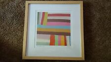 """WATER COLOR ON CANVAS """"ORIGINAL"""" WATERCOLOR BY THE ARTIST """"KLOWN PATTERN  # 4"""