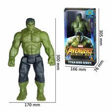 """2Hulk Actionfiguren Marvel Avengers 3 Infinity War 12 """"Titan Hero Serie 30cm DE"""