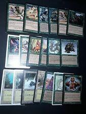 MTG Magic lot de 19 cartes green nature version anglaise  de 1995 à 1997