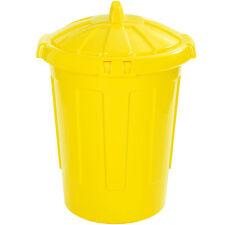 80L 80 Litre Kitchen Home Garden Feed Rubbish Plastic Bin Storage Dustbin Colour