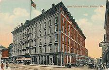 PORTLAND ME – New Falmouth Hotel - 1917