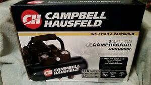 BRAND NEW Campbell Hausfeld 1 Gallon 110 PSI Air Compressor Lightweight Oiless