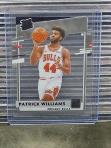 2020-21 Donruss Clearly Patrick Williams Purple Foil Rookie Card RC #51 E463