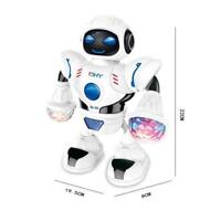 Toys for Boys Electric Music Dancing Robot LED Light Walking Toy Kids Gift