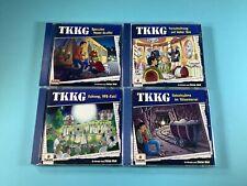 4x TKKG Hörspiel CD Sammlung ua Geiselnahme im Villenviertel