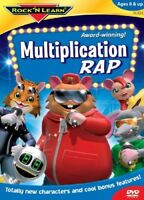 Rock N Learn: Multiplication Rap [New DVD]