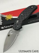 Spyderco Folding Pocket Knife New Sage 3 Bolt Action C123CFBAP