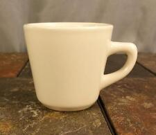 Ultima China Restaurant Ware Heavy Off White Coffee Mug Tea Cup - Marked 6