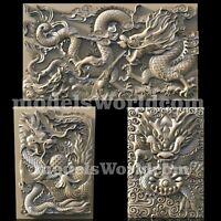 3 3D STL Models Dragon Long Panel CNC Router Carving Machine Artcam aspire Cut3D