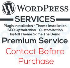 Pro WordPress Services Provider - Theme & Plugin Installation, Migration