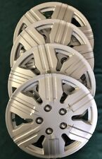 """UNIVERSAL HUBCAPS WHEEL COVERS 425 S 15"""" REPLACEMENT CAPS Set Of 4 METAL CLIPS"""