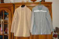 LOT : CARDIGAN POLAIRE TAILLE 42/44 + VESTE LEGERE TAILLISSIME TAILLE 44