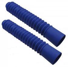Protezione soffietti di forcella blu diametro 34mm 37mm moto Nuovo copertura