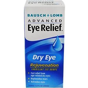 Bausch & Lomb Advanced Eye Relief Dry Eye Lubricant Eye Drops 1 oz (3 Pack)