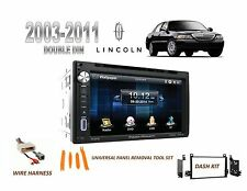 2003-2011 LINCOLN TOWN CAR BLUETOOTH TOUCHSCREEN DVD CAR STEREO INSTALL KIT