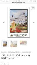 2019 Official 145th Kentucky Derby Poster ( New Still In Plastic)