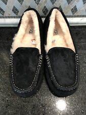 Women's UGG Black Ansley Slippers- size 8- #3312