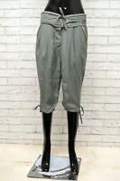 Pantalone Donna FRACOMINA Taglia Size 40 Jeans Pants Bermuda Woman Corto Regular