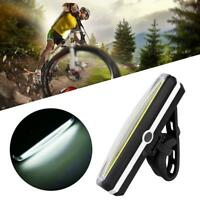 USB Rechargeable COB Bicycle Bike Front Rear 6 Modes Tail Light LED Superbr X3R2