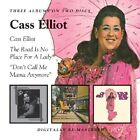 CASS ELLIOT - CASS ELLIOT/THE ROAD IS NO PLACE FOR A LADY/DO 2 CD NEU