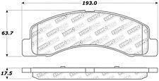 StopTech 309.07560 StopTech Sport Brake Pads