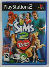 SONY PS2 PAL EUROPEAN THE SIMS 2 PETS VIDEO GAME 100% COMPLETE CIB