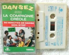 """La Compagnie Creole  """"Dansez Avec La Compagnie Créole"""" K7 audio TBE"""