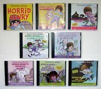 8 x HORRID HENRY Unabridged CD Audio Books - read by Miranda Richardson (2)