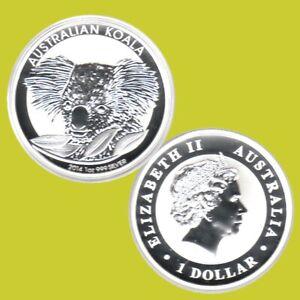 Australien 1 $ Silbermünze Koala 2014 1Oz Silber