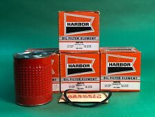 1952-1959 Ford Oil Filters Qty 9 - SRP-F6 A/C P-210, Fram CH6PL, WIX PC-4-FP