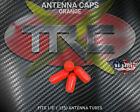 TRC1725 Orange RC Antenna Tube Caps 4 Pack PVC R/C BOGO FREE