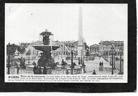 cpa PARIS - Place de la Concorde