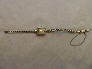Vintage Hamilton 14K White Gold w/ Diamonds ? Ladies Wrist Watch